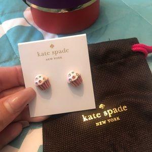 Kate Spade cupcake earrings